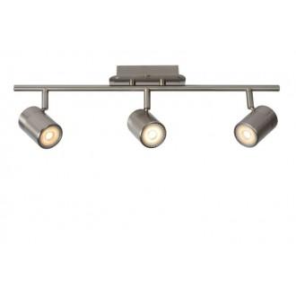 LUCIDE 26957/15/12   Lennert Lucide spot lámpa elforgatható alkatrészek 3x GU10 320lm 3000K króm