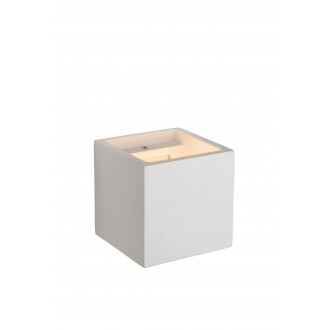 LUCIDE 35208/01/31 | Gipsy-LU Lucide fali lámpa festhető 1x G9 fehér