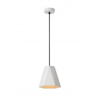 LUCIDE 35404/20/31 | Gipsy-LU Lucide függeszték lámpa festhető 1x E27 fehér