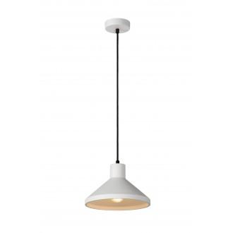 LUCIDE 35407/25/31 | Gipsy-LU Lucide függeszték lámpa festhető 1x E27 fehér