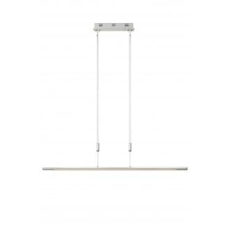 LUCIDE 36413/30/31 | Kwesti Lucide függeszték lámpa fényerőszabályzós kapcsoló állítható magasság 1x LED 2400lm 2700K fehér