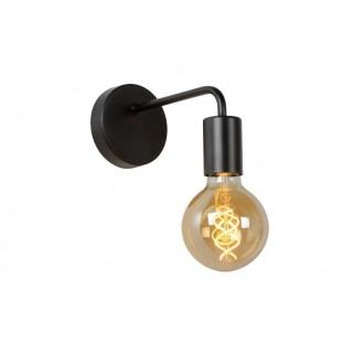 LUCIDE 45265/01/30 | Scott Lucide falikar lámpa 1x E27 fekete