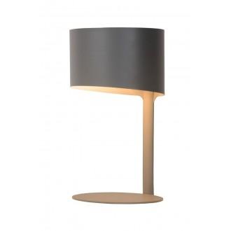 LUCIDE 45504/01/36 | Knulle Lucide asztali lámpa 28,5cm 1x E14 szürke