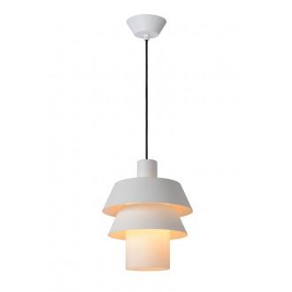 LUCIDE 70481/01/31 | Jaden-LU Lucide függeszték lámpa rövidíthető vezeték 1x E27 fehér