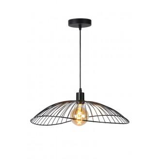 LUCIDE 72403/50/30 | Jing Lucide függeszték lámpa rövidíthető vezeték 1x E27 fekete