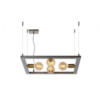 LUCIDE 73403/04/18 | Thor-LU Lucide asztali lámpa 130cm 4x E27 vas.