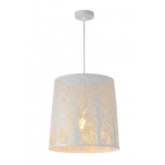 LUCIDE 78481/35/31 | Garell Lucide függeszték lámpa rövidíthető vezeték 1x E27 fehér
