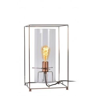 LUCIDE 78586/01/17 | Julot Lucide asztali lámpa 40cm 1x E27 bronz