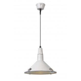 LUCIDE 79459/25/31 | Tonga Lucide függeszték lámpa 1x E27 IP44 fehér, átlátszó