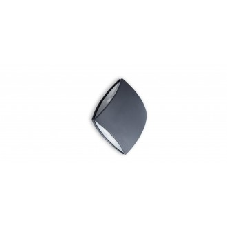 LUTEC 5186902118 | Pilo Lutec fali lámpa 1x LED 760lm 4000K IP54 antracit szürke, átlátszó