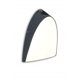 LUTEC 5188801118 | Apollo-LU Lutec fali lámpa 1x LED 800lm 3000K IP54 antracit szürke, opál