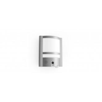 LUTEC 5190601118 | Secury_Light-Vesta Lutec kamerás lámpa fali mozgásérzékelő, fényérzékelő szenzor - alkonykapcsoló hangszóró, mikrofon, szabályozható fényerő, elforgatható alkatrészek, WiFi kapcsolat 1x LED 1350lm 3000K IP54 nemesacél, rozsdamentes acél