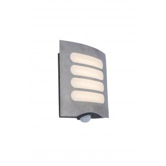 LUTEC 5194804001 | WiZ-Farell Lutec fali WiZ okos világítás szabályozható fényerő, állítható színhőmérséklet, színváltós, elforgatható alkatrészek, WiFi kapcsolat 1x LED 900lm 2200 <-> 6500K IP44 nemesacél, rozsdamentes acél, opál