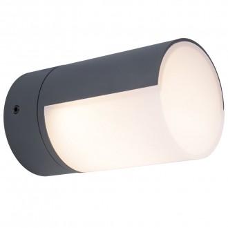 LUTEC 5198104118 | Cyra Lutec fali lámpa elforgatható alkatrészek 1x LED 500lm 3000K IP54 sötétszürke, opál