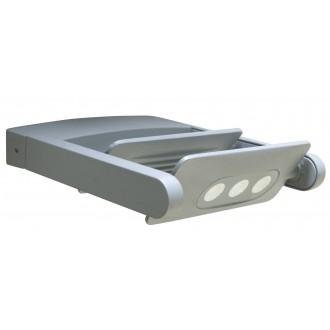 LUTEC 5614402118 | Mini-LedspoT Lutec falikar lámpa elforgatható alkatrészek 2x LED 1210lm 4000K IP65 antracit szürke