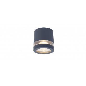 LUTEC 6304201118 | Focus-LUT Lutec mennyezeti lámpa 1x GU10 IP44 sötét szürke, átlátszó