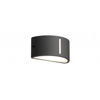 LUTEC 6330401118 | Bonn-LU Lutec fali lámpa 1x E27 IP54 antracit szürke, opál