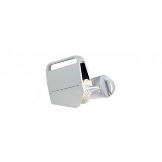 LUTEC 6900302331 | Mini-Butterfly Lutec hordozható, asztali lámpa fényerőszabályzós érintőkapcsoló napelemes/szolár, szabályozható fényerő, USB csatlakozó, telefon töltő, mobil töltő, elforgatható alkatrészek 1x LED 180lm 4000K IP44 fehér, átlátszó