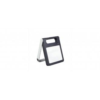 LUTEC 6907701331 | Padlight Lutec hordozható, asztali lámpa fényerőszabályzós érintőkapcsoló napelemes/szolár, szabályozható fényerő, USB csatlakozó, telefon töltő, mobil töltő, elforgatható alkatrészek 1x LED 200lm 4000K IP44 fehér, opál