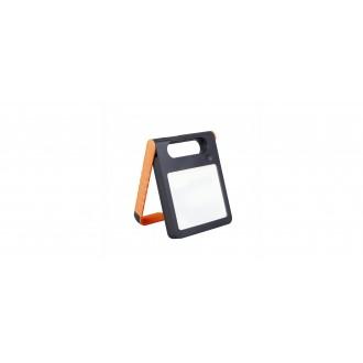 LUTEC 6907701340 | Padlight Lutec hordozható, asztali lámpa fényerőszabályzós érintőkapcsoló napelemes/szolár, szabályozható fényerő, USB csatlakozó, telefon töltő, mobil töltő, elforgatható alkatrészek 1x LED 200lm 4000K IP44 narancs, opál
