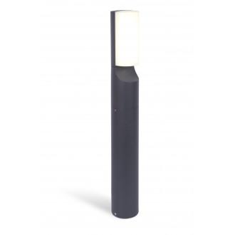 LUTEC 7188601125 | Bati Lutec álló lámpa 65cm 1x LED 1100lm 4000K IP44 sötét szürke, opál