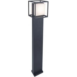 LUTEC 7199201118 | Cruz-LU Lutec álló lámpa 75cm 1x LED 1000lm 3000K IP54 sötétszürke, opál