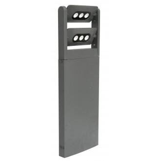 LUTEC 7214604118 | Mini-LedspoT Lutec álló lámpa 61,6cm elforgatható alkatrészek 2x LED 1210lm 4000K IP65 antracit szürke