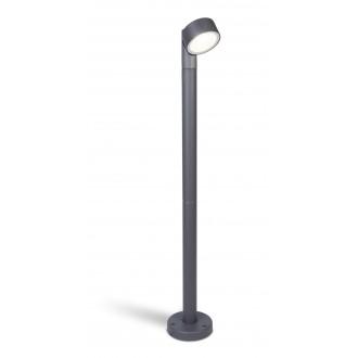 LUTEC 7226101118 | Trumpet-LU Lutec álló lámpa 85cm elforgatható alkatrészek 1x LED 850lm 4000K IP54 antracit szürke