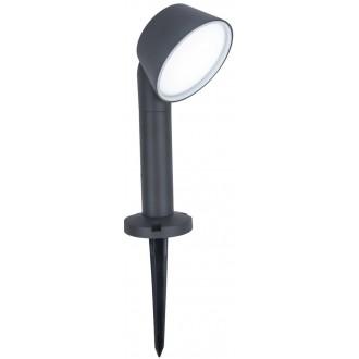 LUTEC 7288602118   Dakota-LU Lutec leszúrható lámpa szabályozható fényerő, állítható színhőmérséklet, Bluetooth 1x LED 800lm 2700 <-> 6500K IP54 sötétszürke, opál