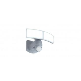LUTEC 7632201053 | Arc-LU Lutec fényvető lámpa mozgásérzékelő, fényérzékelő szenzor - alkonykapcsoló elforgatható alkatrészek 2x LED 1200lm 5000K IP54 fehér, opál