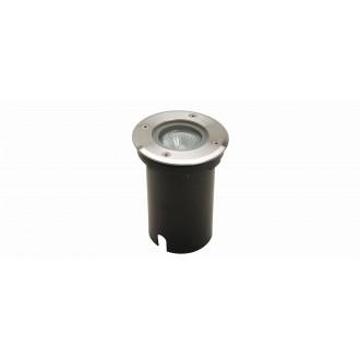 LUTEC 7700511012 | Berlin-LU Lutec beépíthető lámpa Ø110mm 1x GU10 IP67 nemesacél, rozsdamentes acél, átlátszó