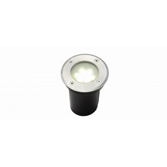 LUTEC 7700513012 | Berlin-LU Lutec beépíthető lámpa Ø110mm 1x LED 180lm 4000K IP67 nemesacél, rozsdamentes acél, átlátszó