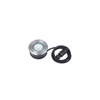 LUTEC 7704212012 | Cydops Lutec beépíthető lámpa Ø110mm 1x LED 580lm 4000K IP67 nemesacél, rozsdamentes acél, átlátszó