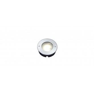 LUTEC 7704601012 | Strata Lutec beépíthető lámpa Ø120mm 1x LED 320lm 3000K IP67 nemesacél, rozsdamentes acél, savmart
