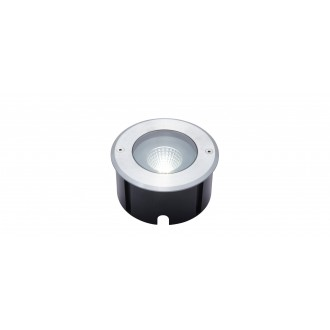 LUTEC 7704801012 | Denver-LU Lutec beépíthető lámpa Ø140mm 1x LED 1030lm 4000K IP67 nemesacél, rozsdamentes acél, átlátszó