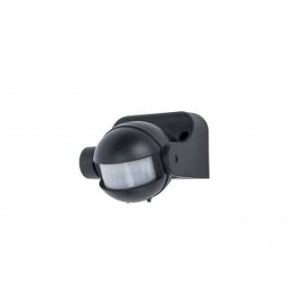 LUTEC 9701601330 | Lutec mozgásérzékelő PIR 180° fényérzékelő szenzor - alkonykapcsoló IP44 fekete