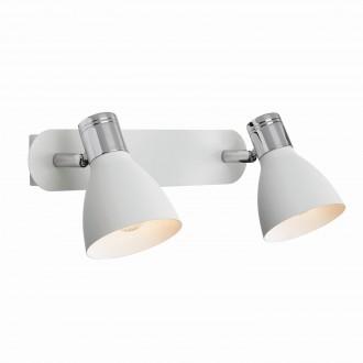 MARKSLOJD 103066 | Markslojd spot lámpa kapcsoló elforgatható alkatrészek 2x E14 króm, fehér