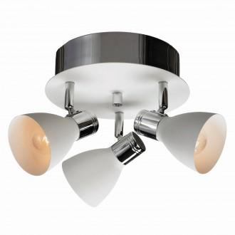 MARKSLOJD 103068 | Markslojd spot lámpa elforgatható alkatrészek 3x E14 króm, fehér
