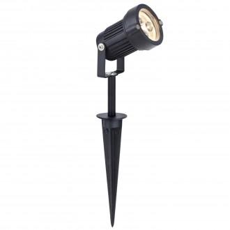 MARKSLOJD 104722 | Tradgard Markslojd leszúrható lámpa elforgatható alkatrészek 1x LED 300lm 3000K IP44 fekete