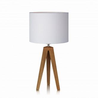 MARKSLOJD 104868   Kullen Markslojd asztali lámpa 55cm vezeték kapcsoló 1x E27 tölgy, fehér