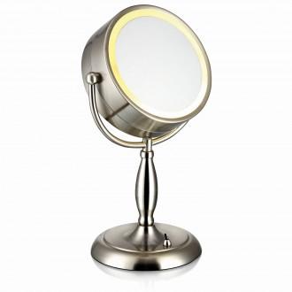 MARKSLOJD 105237 | Face Markslojd asztali tükör 36cm kapcsoló 1x E14 acél, tükör