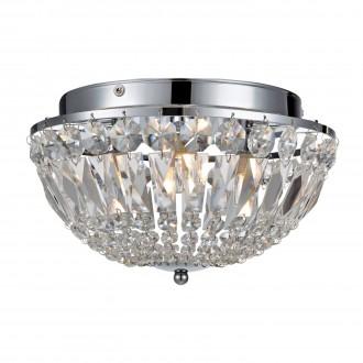 MARKSLOJD 105796 | Estelle Markslojd mennyezeti lámpa szabályozható fényerő 3x G9 IP44 króm, átlátszó