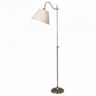 MARKSLOJD 105921 | Charleston Markslojd álló lámpa 167cm vezeték kapcsoló 1x E27 oxid, bézs