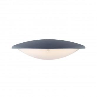 MARKSLOJD 106532 | Apus Markslojd fali lámpa 1x LED 300lm IP44 szürke, savmart