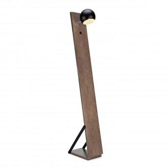 MARKSLOJD 106611 | Fletcher Markslojd álló lámpa 148cm kapcsoló 1x E14 dió, fekete, fehér