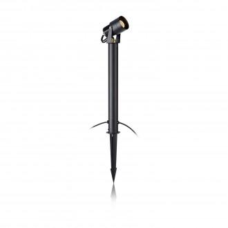 MARKSLOJD 106932 | Garden-24 Markslojd leszúrható lámpa szabályozható fényerő, elforgatható alkatrészek 1x LED 330lm 3000K IP44 fekete