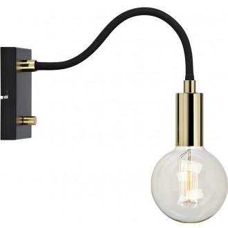 MARKSLOJD 106988 | Raw Markslojd falikar lámpa fényerőszabályzós kapcsoló szabályozható fényerő 1x E27 sárgaréz, fekete