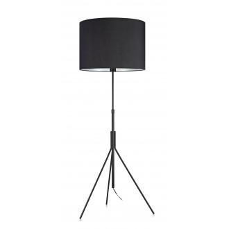 MARKSLOJD 107000 | Sling Markslojd álló lámpa 164cm kapcsoló 1x E27 fekete, fehér