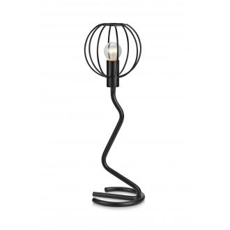 MARKSLOJD 107006 | Clive Markslojd asztali lámpa 45cm vezeték kapcsoló 1x E14 fekete