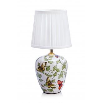 MARKSLOJD 107039 | Mansion Markslojd asztali lámpa 32,5cm vezeték kapcsoló 1x E14 sárgaréz, fehér, többszínű